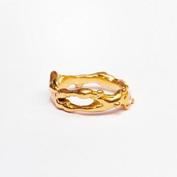 Кольцо Gold bullion